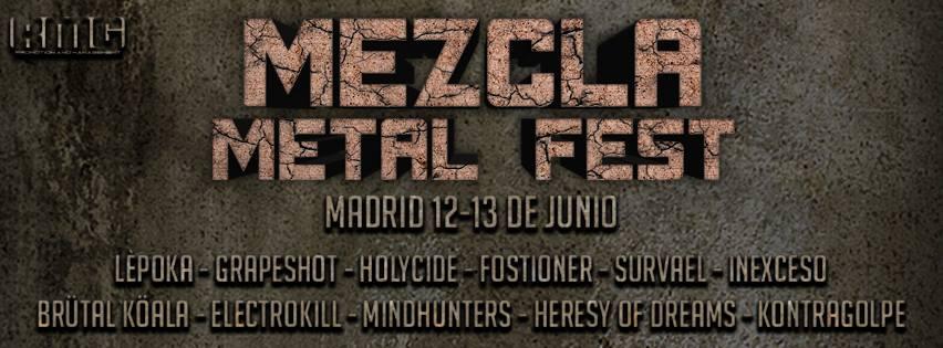 Mezcla Metal Fest: el 12 y 13 de junio en Madrid
