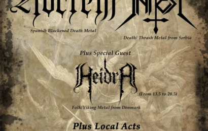 BLAZE OF PERDITION (POL) – VI JAÉN METAL FESTIVAL – NOCTEM