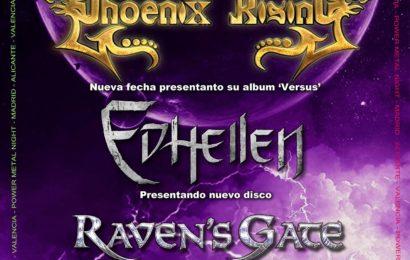 PHOENIX RISING – Fan metal show – TETE NOVOA