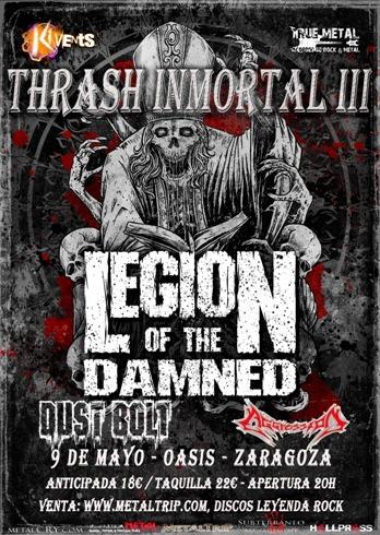 UPCOMING OF DEVASTATION – O.D.I.O – Thrash Inmortal 2015