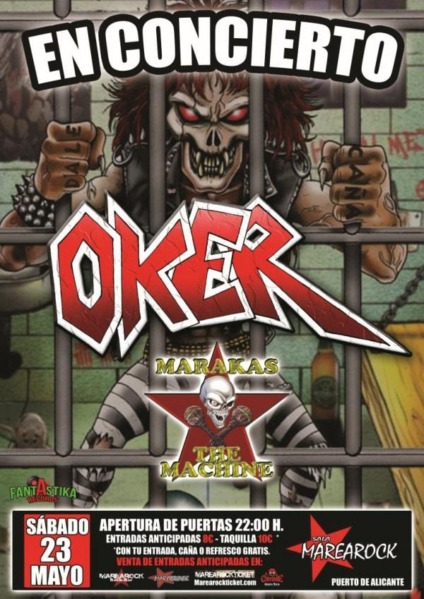 OKER – Camorock V Edición – TAXUS