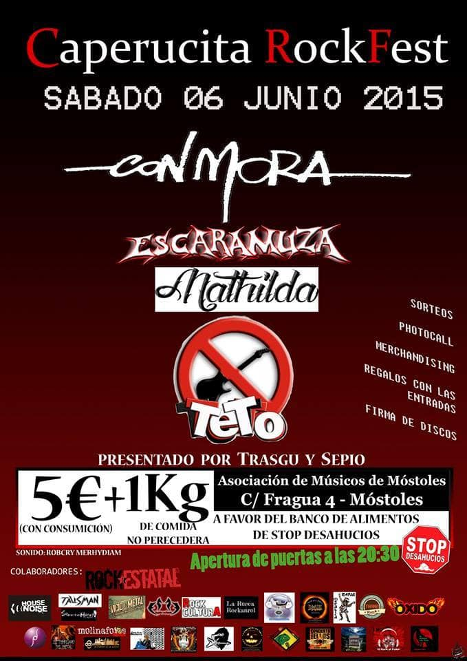 Caperucita Rock Fest – STRIVOR – TABÜ