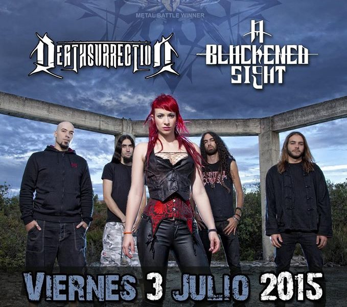 A BLACKENED SIGHT + DEATHSURRECTION + [IN  MUTE] – Madrid- 03/07/15