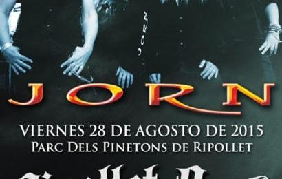 OKER – STORMHOLD (SWE) – Ripollet Rock Festival 2015
