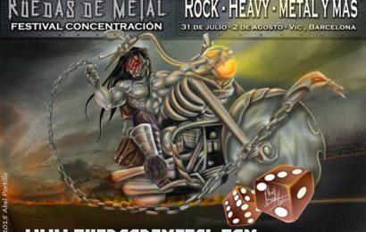 Festival benéfico Ruedas de Metal 2015 – JOLLY JOKER – Odyssey Radio