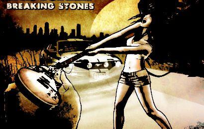 AERIAL BLACKED – Breaking stones, 2015