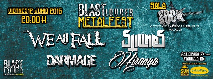 Blast Louder Metal Fest – Madrid – 12/06/2015