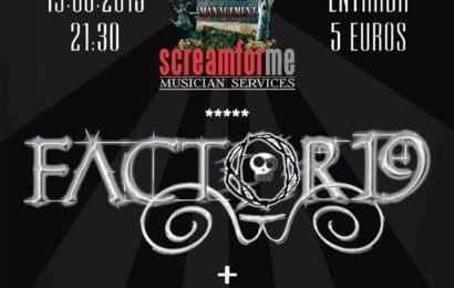 Blast Louder Metal Fest – FACTOR19 – TÁNTRICA