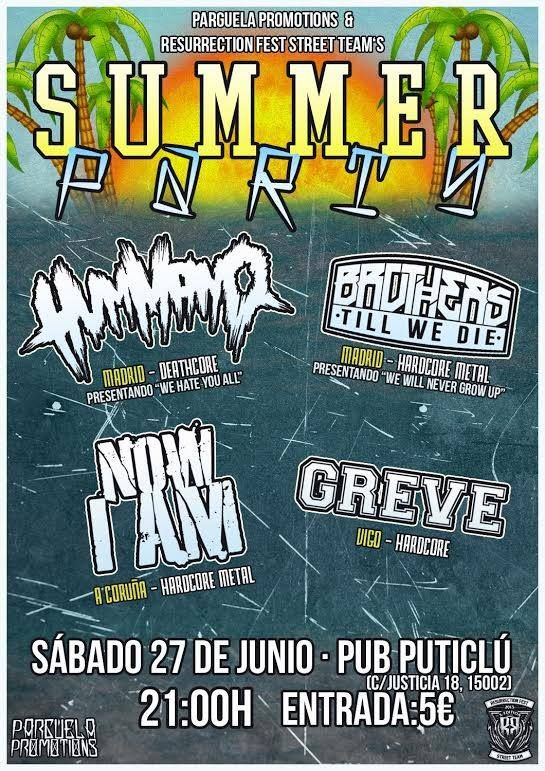 Blast louder progfestival – BLAZE OF PERDITION (POL) – Hummano summer party
