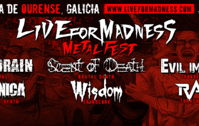 Live for Madness Metal Fest – THE BLINDED – ZOMBIE COOKBOOK (BRA)
