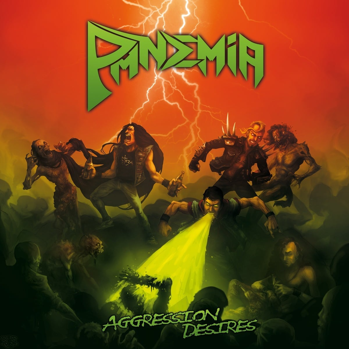 PANDEMIA – Aggression desires, 2015