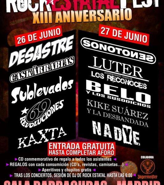 Rock Estatal Fest – JAVI CANSECO – DISTRITO ALPHA