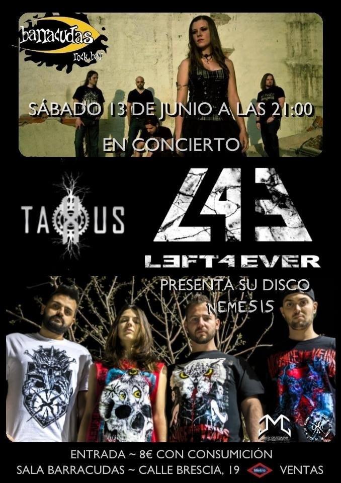 TAXUS – STRIVOR – Mezcla Metal Fest