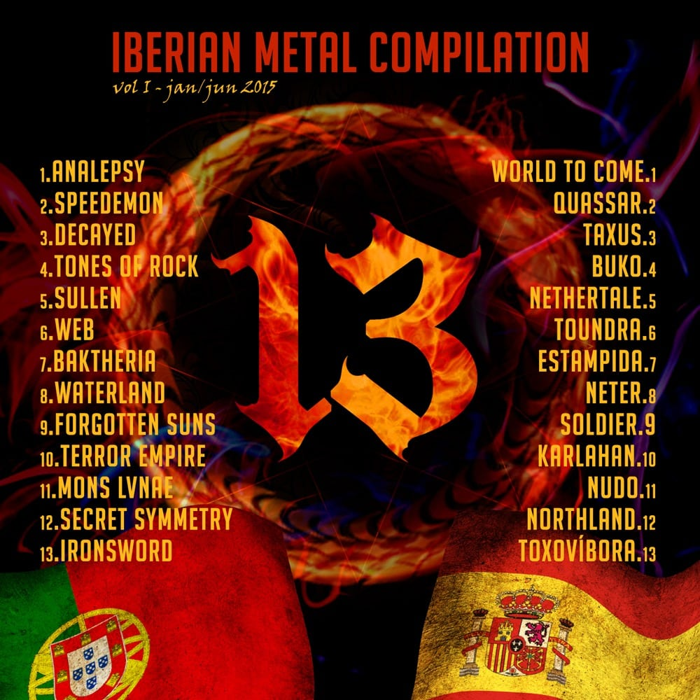 Descarga 13 IBERIAN METAL COMPILATION gratis
