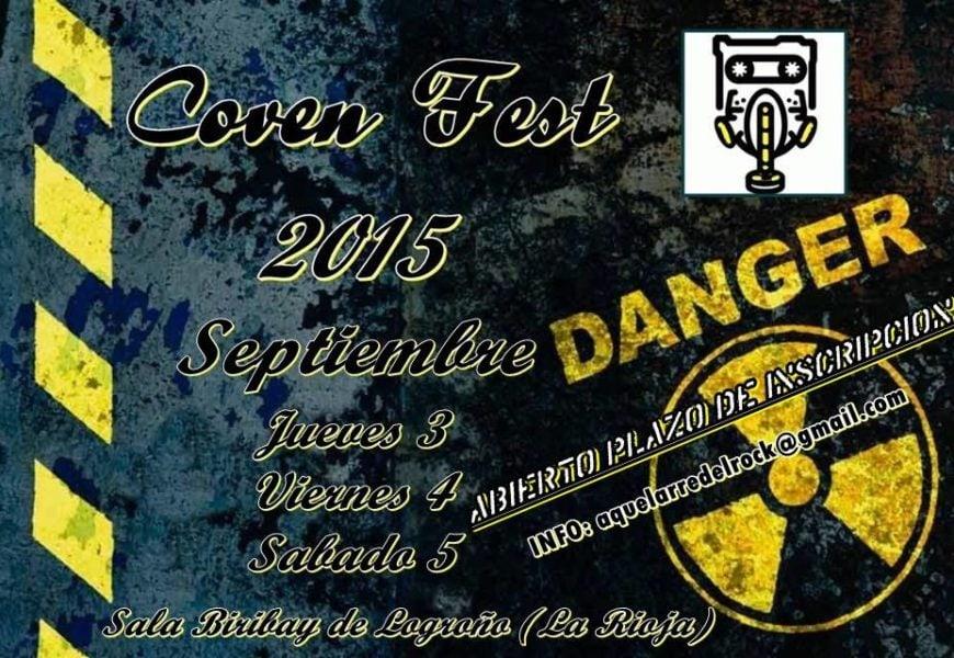 Coven Fest 2015 y concurso Aquelarre de Bandas.