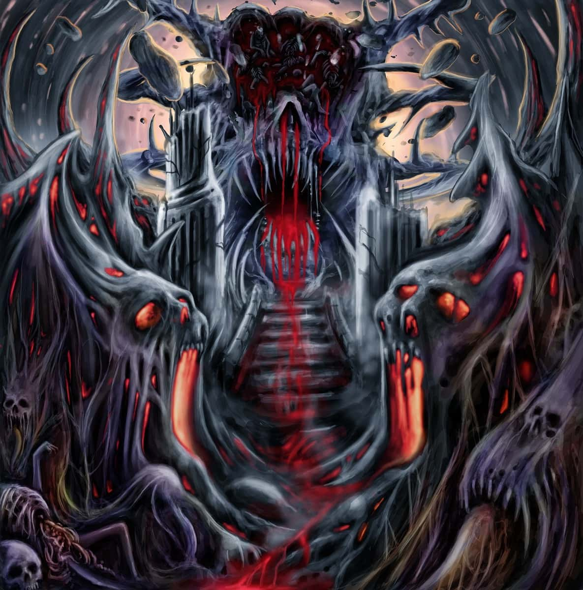 INHUMAN DEPRAVITY (TUR) – Nocturnal carnage by the unholy desecrator, 2015