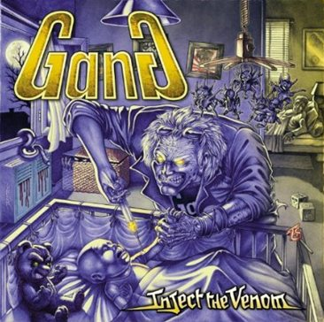 GANG (FRA) – Inject the venom, 2014