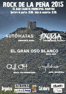 SOTO – THE VAL – Rock de la Peña 2015