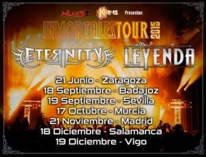 inmortales tour 2015