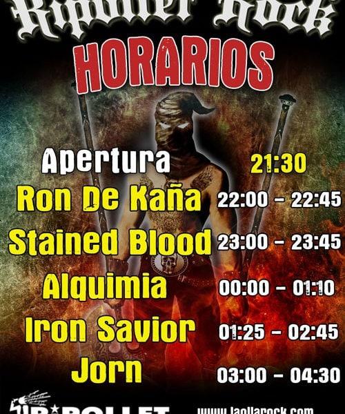 KHY (PATRICIA TAPIA) – Rocktubre fest 2015 – Ripollet Rock Festival 2015