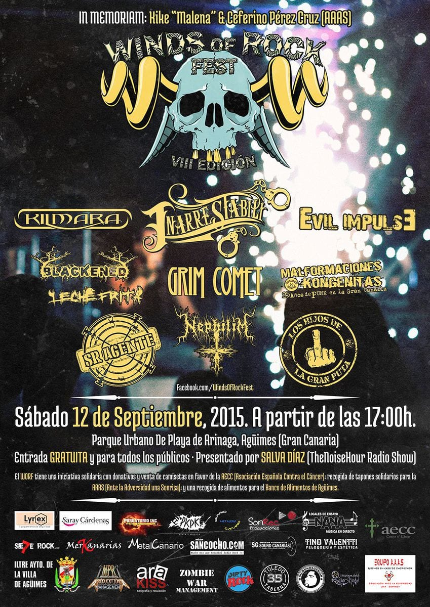 VIII Winds of rock fest – NUCLEUST (AUS) – MINDPATROL (LUX)