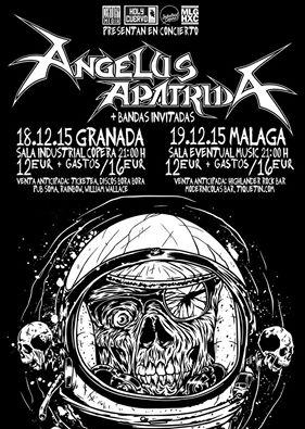 STORMLORD (ITA) – Batalius Metal Badajoz – ANGELUS APATRIDA