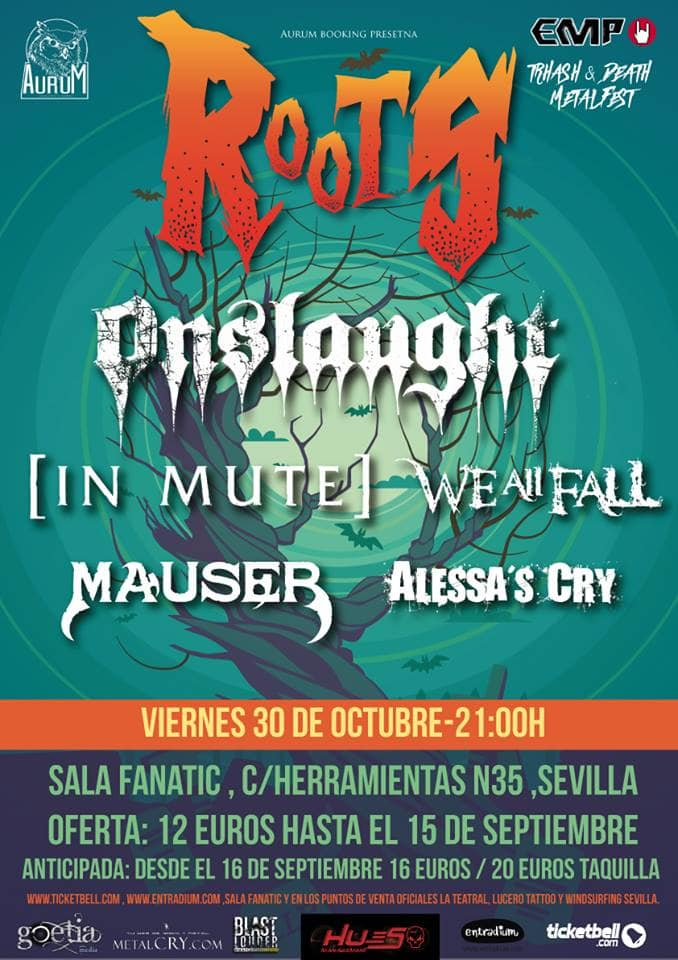 Roots Thrash & Death Metalfest – Sevilla – 30/10/2015