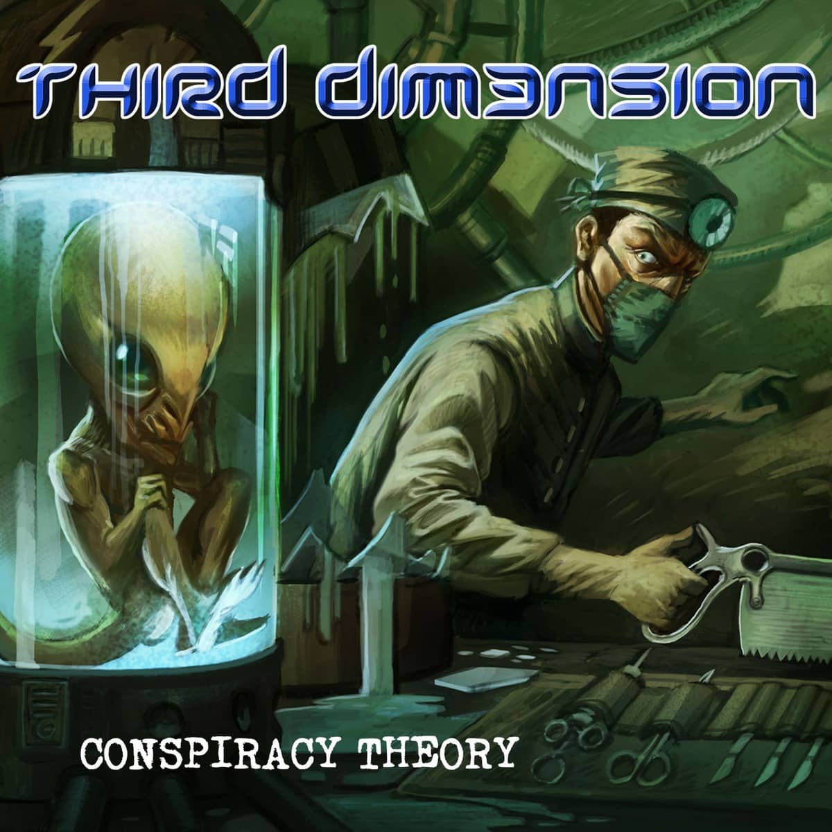THIRD DIM3NSION – Conspiracy Theory, 2016