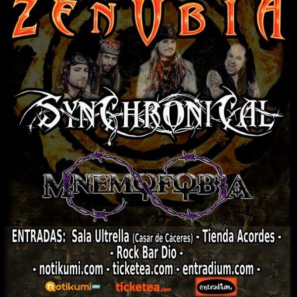 MORPHIUM – ZENOBIA – III Zaragoza Metal Women Fest
