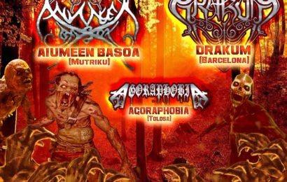 IV Zombie Jaialdia – MAGIC CIRCLE (USA) – CRUZ DE FERRO (PRT)