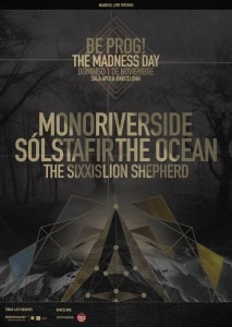 CON FUERZA HEAVY – BE PROG! THE MADNESS DAY + RIVERSIDE (POL) – GIGATRON