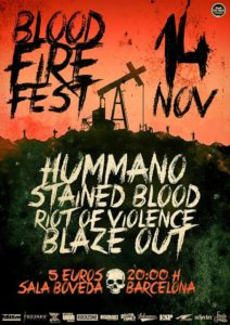 BLOOD FIRE FEST BCN
