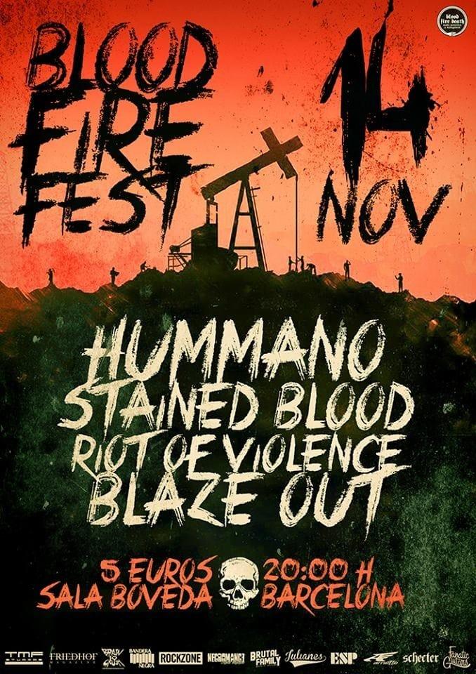 BLOOD FIRE FEST – STEIGNYR – FROZEN DAWN