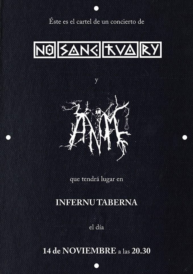 Damas del metal – AANOMM + NO SANCTUARY – SIROLL!