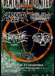 DEATH METAL UNITED FEST – WHERE ALL ILLUSIONS DIE AUTUMN WINTER TOUR – GIRA DAMAS DE  METAL