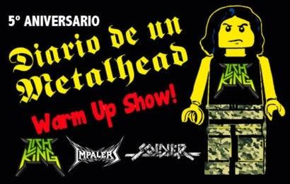 Fiesta 5º aniversario de Diario de un metalhead