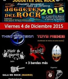 IN MOURNING (SWE) – I FESTIVAL JUGUETES DEL ROCK – BLACK COBRA (USA)