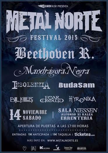 METAL NORTE FESTIVAL 2015 – NONSENSE – STIGMA