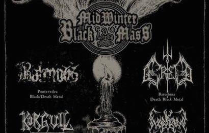 Midwinter Black Mass – Krea Chirstmas Party – CELTIBEERIAN