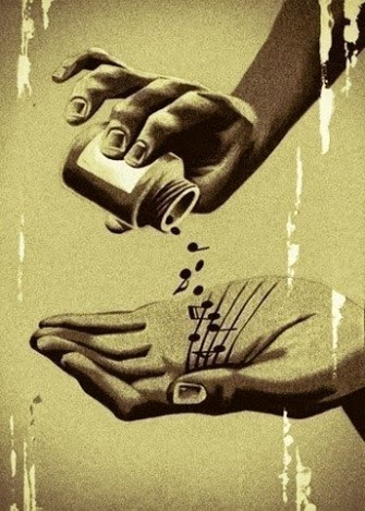 Menos fármacos y más música