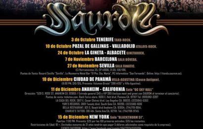 SAUROM – Palacio metal fest – CAIN'S DINASTY