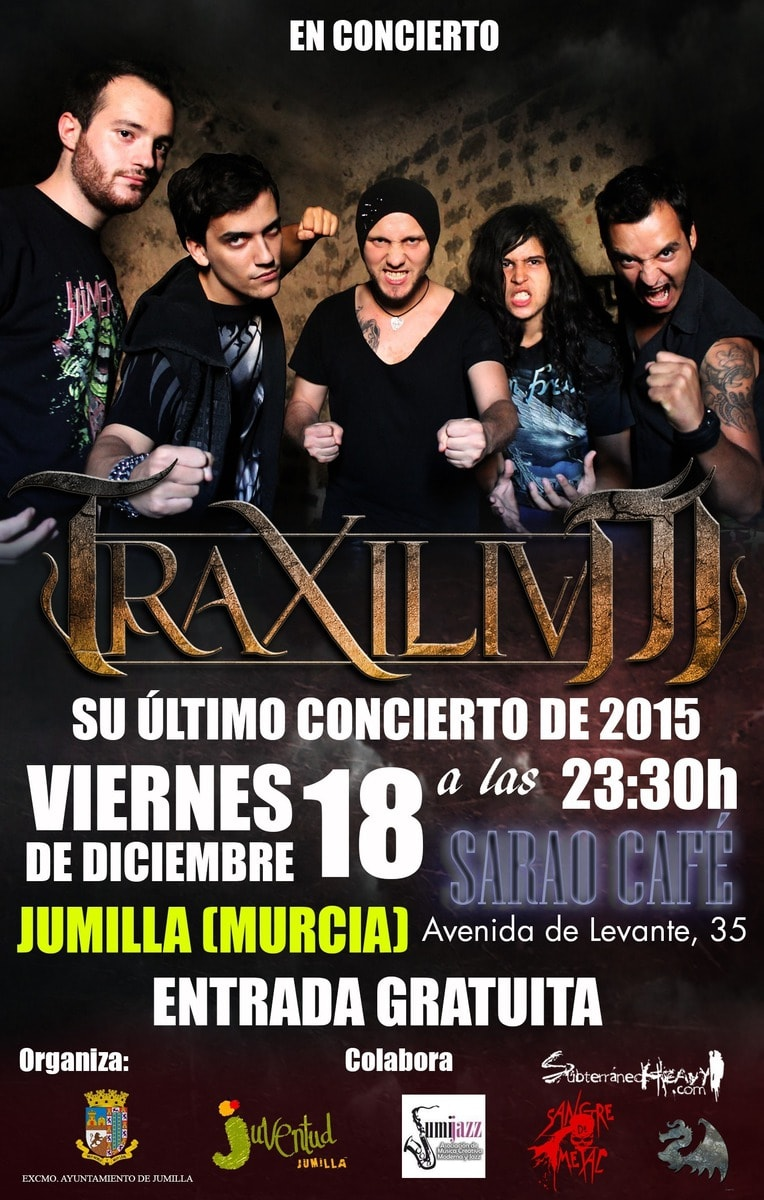 TRAXILIUM – AGRESIVA + SALA X – ORION CHILD