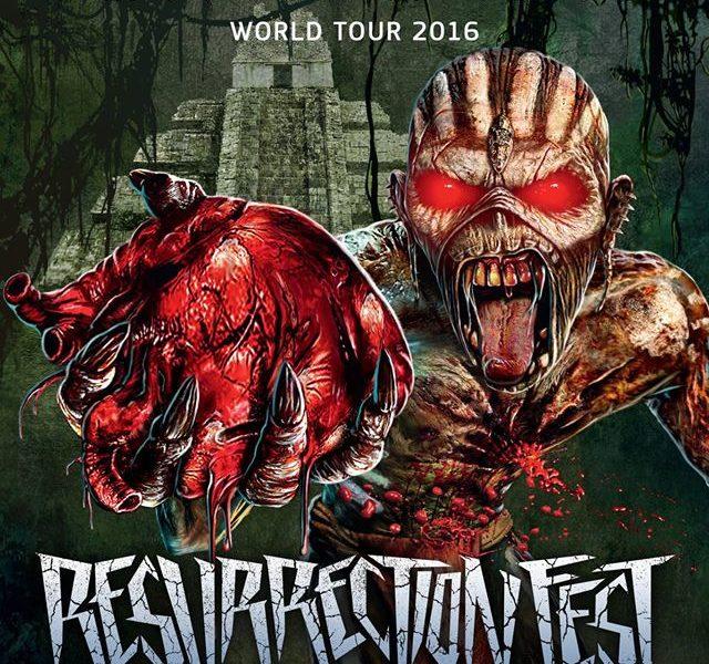 IRON MAIDEN confirmados para el Resurrection Fest 2016