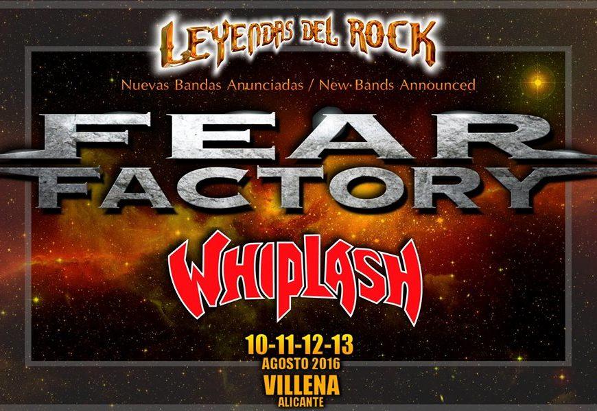 ¡¡ULTIMA HORA!! Dos nuevas confirmaciones al LEYENDAS ROCK 2016