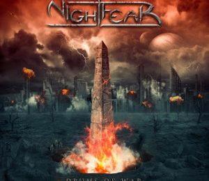 NIGHTFEAR – Drums of war, 2015