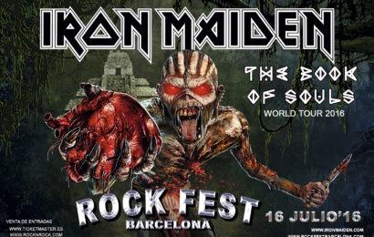 IRON MAIDEN encabezará el Rock Fest Barcelona 2016