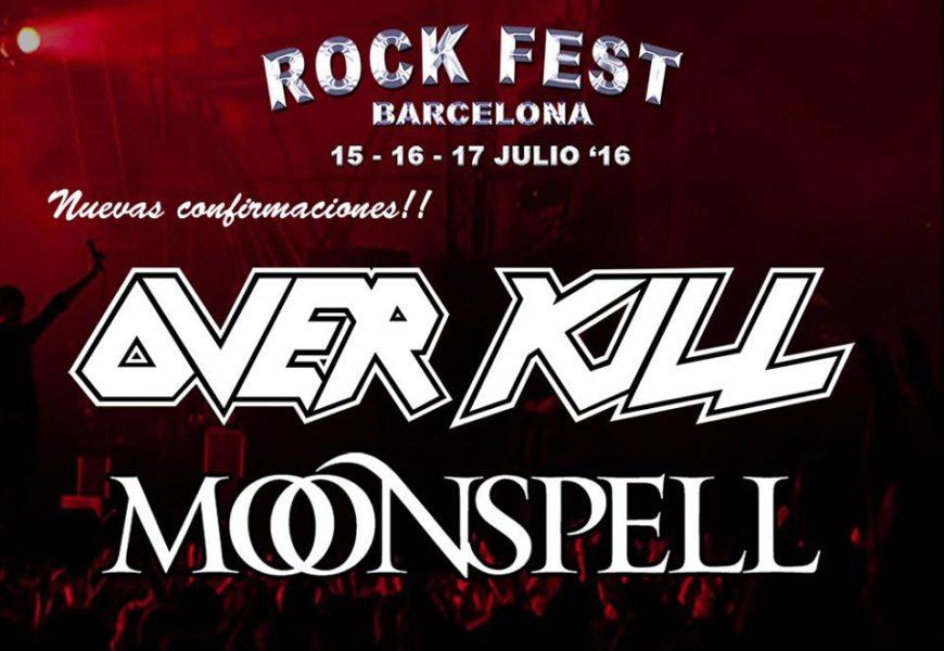 Dos nuevas bandas al Rock Fest Barcelona 2016