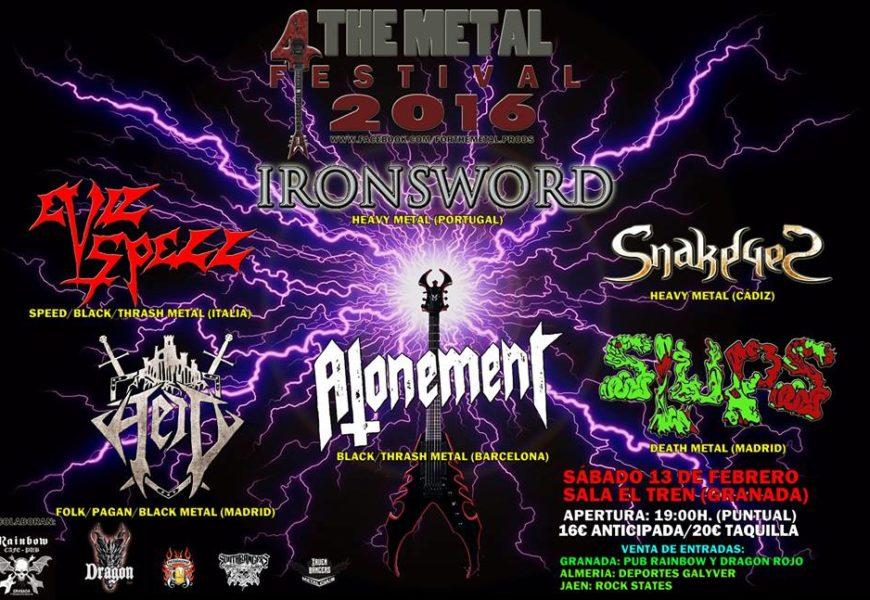 CHEROKEE – ALHANDAL – 4 The Metal Festival 2016