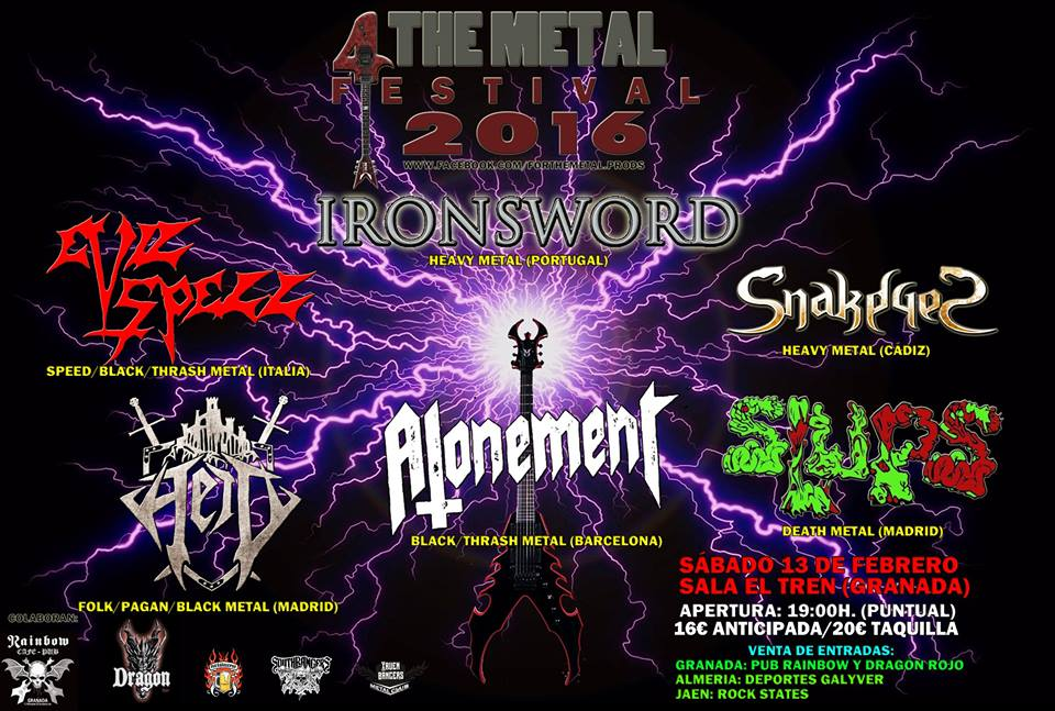 CHEROKEE – ALHANDAL – 4 The Metal Festival 2016
