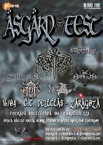Asgard Fest – EXILER – Dead Heart Metal Night